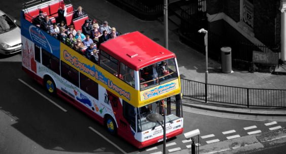 the original open top bus tour liverpool
