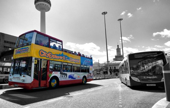 Liverpool Sightseeing Tour Bus