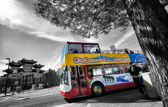 best sightseeing in liverpool with our open top bus tour!