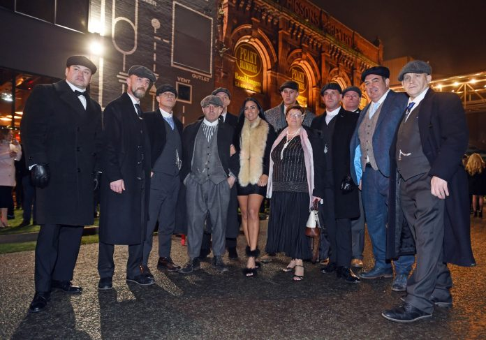 the new peaky blinders bar opens in the cains village