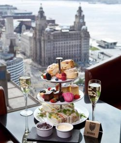 Afternoon Tea at the Panoramic 34 Restaurant in Liverpool
