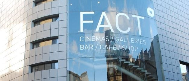 Outside the Liverpool FACT Cinema