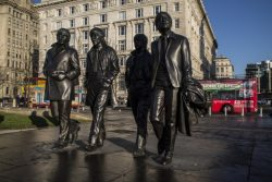 The Beatles Statue in Liverpool