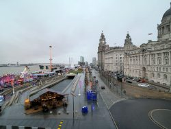 Ice Festival at the Liverpool Pier Head