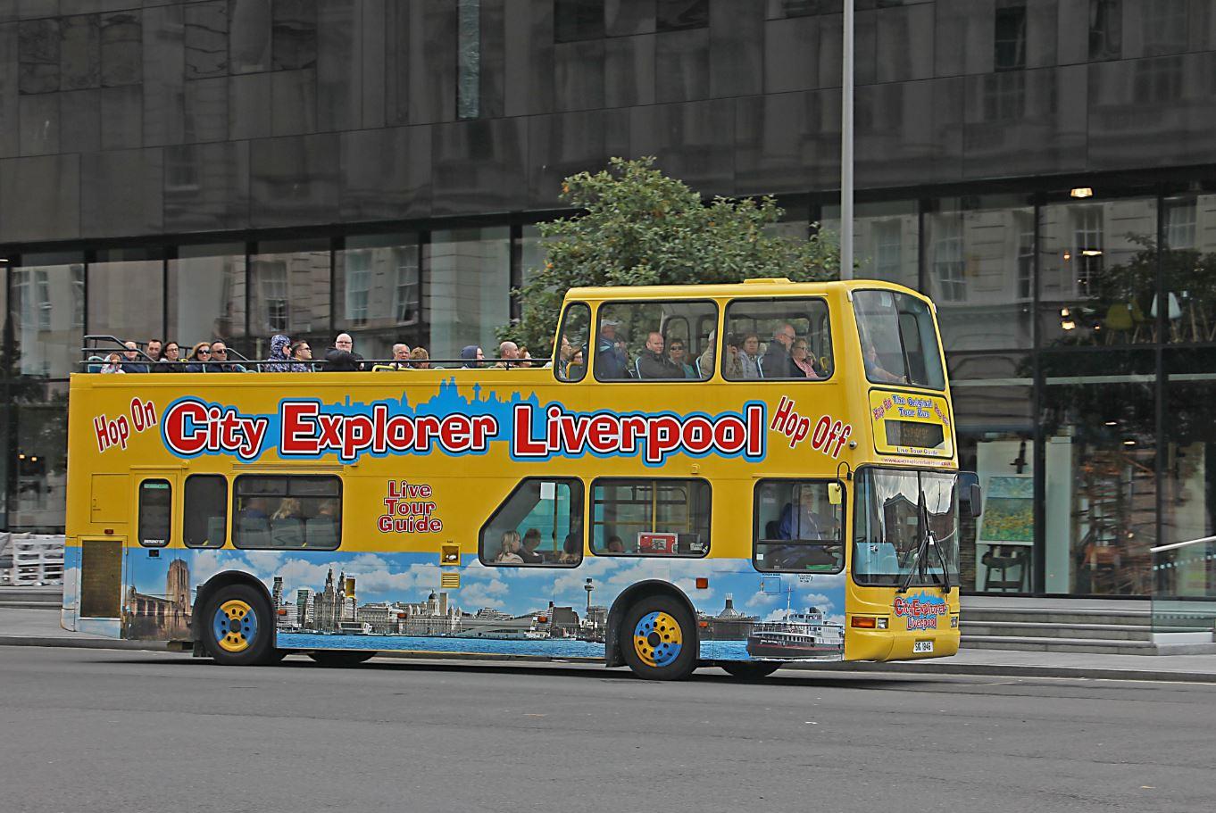 The City Explorer Liverpool Tour Bus